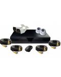 KIT DVR WITH 4 CAMERAS AHD KT-2104