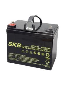 BATTERIA AL PIOMBO RICARICABILE SKB SK12 - 33 (6FM33)