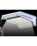 Compact light with 16 LEDs of 1 Watt; wall-mounting wireless