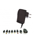 POWER SUPPLY 5VDC second, 5A 8 PINS WITH INTERCHANGEABLE