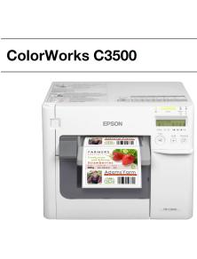 COLOR PRINTER FOR LABELS EPSON ColorWorks C3500TM