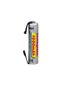 BATTERIA RICARICABILE SKB MH1000 AAA 1P  AL NI-MH CILINDRICA - AAA (MINISTILO) 1000MAH