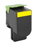 YELLOW TONER COMPATIBLE LEXMARK C802SY