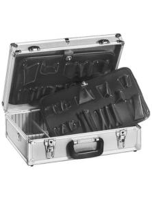 Valigia per tecnici in alluminio 456x330x152mm
