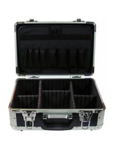 ALUMINUM CASE FOR TECHNICIANS 425x300x120mm