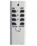 RADIO REMOTE CONTROL PROGRAMMABLE 12 CHANNEL 433 MHZ