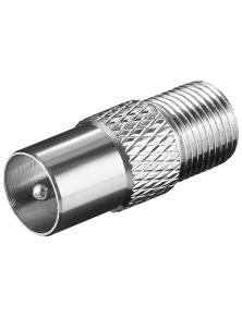 PLUG CONNECTOR JACK SAT F COAX socket F - IEC