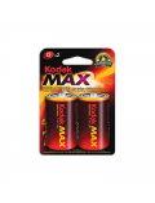 PILE ALKALINE KODAK MAX D 2X1,5 V