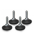 KIT 4 LEVELLING FEET TO RACK CABINETS