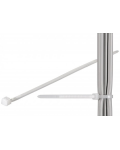 CABLE RETAINER CLAMP, CLEAR