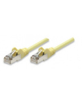 CABLE NETWORK PATCH IN COPPER SHIELDED CAT. 5E FTP YELLOW 7.5 MT