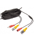 CABLE FOR CAMERAS BNC + POWER FROM 18MT