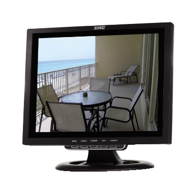 LCD MONITOR GBC 12 FOR VIDEO SURVEILLANCE