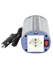INVERTER 24 VDC - AC 230 V 150 W F (CEE 7/3) / USB