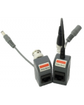 COUPLE BALUN FOR VIDEO TRANSMISSION + POWER ON ETHERNET CABLE
