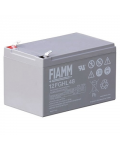 RECHARGEABLE LEATHER BATTERY FIAMM 12v 12 amp.12FGHL48
