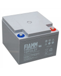 RECHARGEABLE LEATHER BATTERY 12v 27 amp. Fiamm 12FGL27