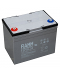 RECHARGEABLE LEATHER BATTERY FIAMM 12v 33 amp. Terminal m6 12FGL33