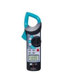 PINZA AMPEROMETRICA con misura temperatura e frequenzimetro all-sun EM-465A