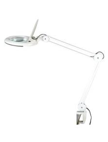 LAMPADA A PANTOGRAFO CON 56 LED 5 DIOTTRIE DA TAVOLO MKC-140A