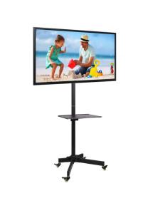 """SUPPORTO DA PAVIMENTO CON MENSOLA PER TV LCD/LED/Plasma 23-55"""""""