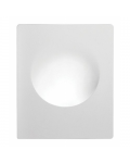 PORTA FARETTO IN GESSO 350X290X78MM 1XGU10 230V DA PARETE ART OF LIGHT BIANCO
