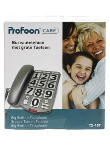 TELEFONO A FILO CON TASTI GRANDI PROOFON