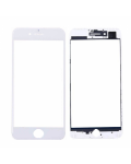 FRONT GLASS WITH FRAME FOR IPHONE 7 PLUS WHITE