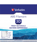 Filamento ABS 2.85 mm 1 kg Bianco
