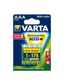 RECHARGEABLE BATTERIES ACCU AAA 800 MAH 4pcs