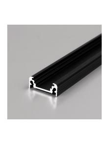 ALUMINUM PROFILE 2M SLIM STANDARD BLACK