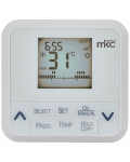 PROGRAMMABLE THERMOSTAT WITH WEEKLY PROGRAMMING