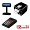 FISCAL PRINTER + KEYBOARD + DISPLAY SYSTEM RETAIL / CUSTOM  Q3X F RT