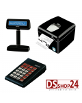 STAMPANTE FISCALE + TASTIERA + DISPLAY SYSTEM RETAIL / CUSTOM Q3x F RS232/USB