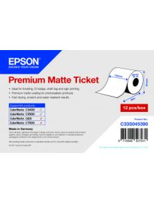 ROTOLO PREMIUM MATTE TICKET EPSON 102MM X 50M