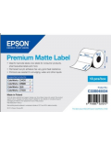 ROLL OF LABELS EPSON PREMIUM MATTE 76X51MM 650 LABELS