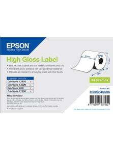 EPSON HIGH GLOSS ADHESIVE ROLL 51MMX33M