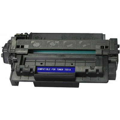 TONER BLACK COMPATIBLE HP Q7551X