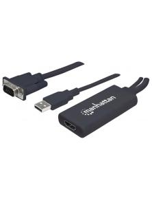 CONVERTITORE DA VGA E USB A HDMI