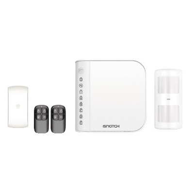 WIRELESS ALARM WITH TELEPHONE DIALER ON FIXED NETWORK iSNATCH SECUREASY 2