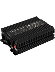 INVERTER  12V - AC 230 V 1000 W F (CEE 7/4)
