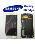 LCD + TOUCH ORIGINALE PER GALAXY S6 EDGE