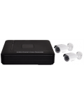 KIT + 2 CAMERAS DVR 4CH VIDEO / AUDIO, RESOLUTION IN FULL D1 @ 100FPS