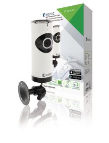 TELECAMERA  IP HD 1280x720 obiettivo fisheye