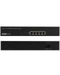 SWITCH 5 PORTE GIGABIT, 4 PORTE PoE