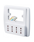 MULTI SOCKET ELECTRIC WALL 4 PLACES