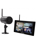KIT WIRELESS DIGITALE TELECAMERA DA ESTERNI + MONITOR 7 PORTATILE iSNATCH WiPNVRHD