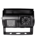 CAMERA DOUBLE ADJUSTABLE WITH 24 IR LEDS AND MIRROR FUNCTION FOR AUTOMOTIVE