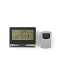 WEATHER STATION WITH WIRELESS SENSOR - WEATHER FORECAST