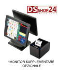 PC TOUCH + STAMPANTE FISCALE SYSTEM RETAIL / CUSTOM